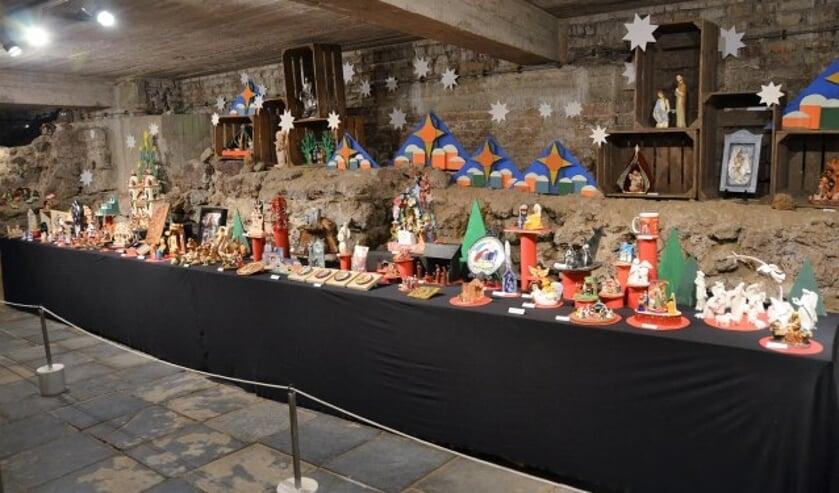 Kerststallenexpositie in Boxmeer.