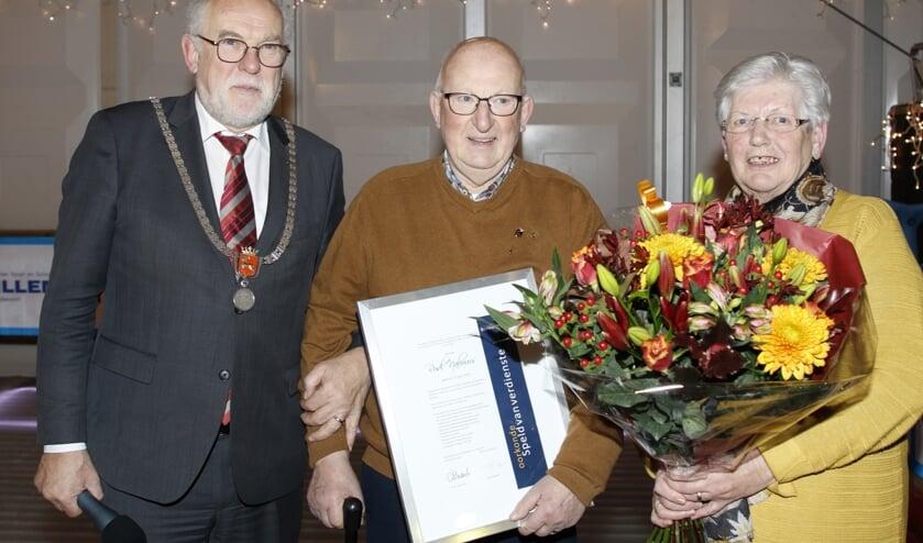 Rudy Nabuurs ontving een Speld van Verdienste.