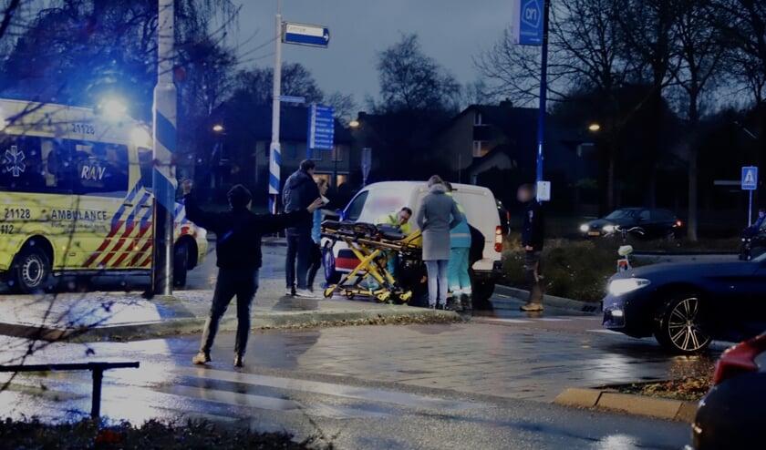 Fietsster gewond na aanrijding op Hapsebaan in Cuijk.