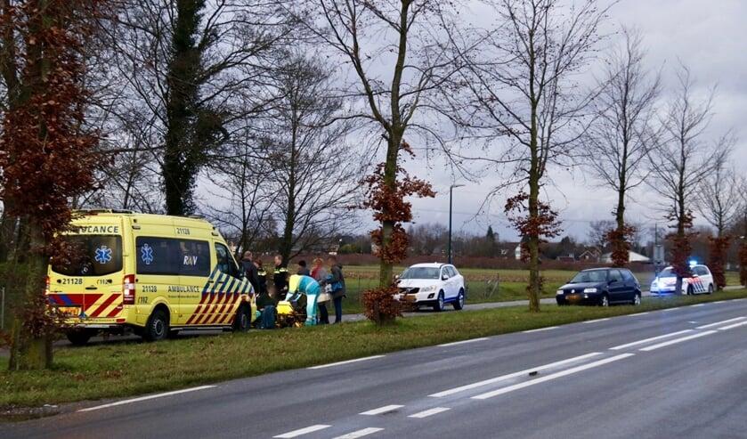 Scooterrijder gewond bij aanrijding in Oeffelt.
