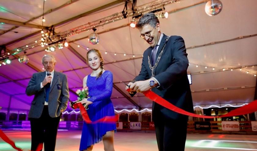 Cuijk on Ice werd zaterdag officieel geopend.