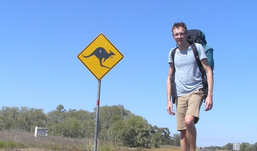 Twan Linders weet een hele hoop te vertellen over Australië.