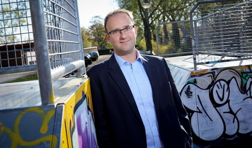 Menno Roozendaal is wethouder werk, jeugd en cultuur.