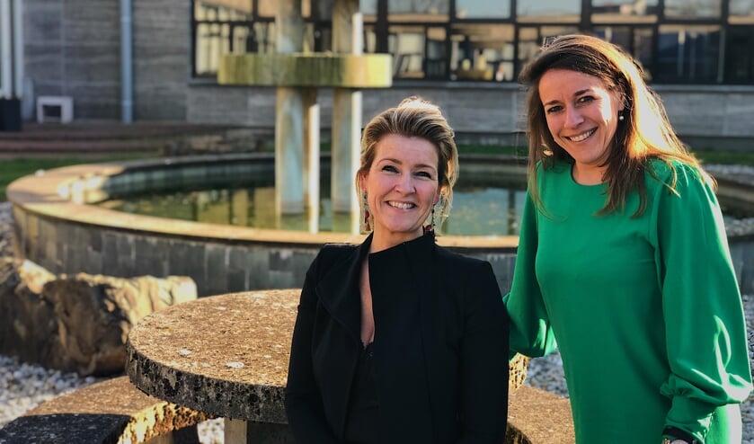 Rachel van de Greef (L) en Lonneke van der Linde (R) zijn samen het gezicht van Startersnetwerk Meierijstad.