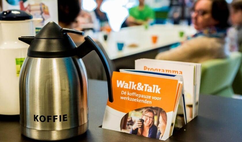 <p>Walk&amp;Talk: Dé koffiepauze voor werkzoekenden in de bieb</p>