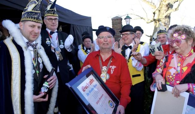 Gouden Knol voor Willie Gremmen. (Foto: Ad Megens)  © Kliknieuws Oss