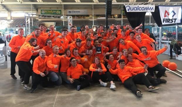 Team Rembrandts terug naar Nederland: 'We hebben het super gedaan'