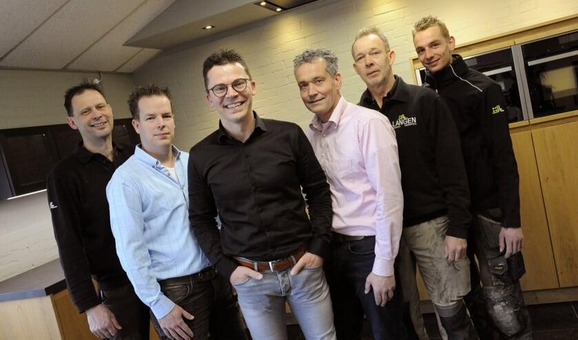 Het team van Langen Keukens. (foto: Ingrid Driessen)