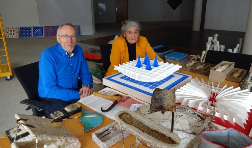 Harrie van Schijndel en Martje Verhoeven. (foto: Ankh van Burk)