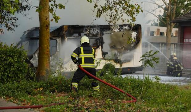 Twee branden in korte tijd in Ravenstein. (Foto: Gabor Heeres / Foto Mallo)  © 112 Brabantnieuws