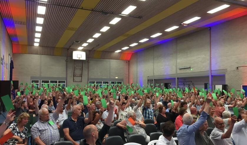 De inwoners van Langenboom stemden maandag vrijwel unaniem in met de plannen om het dorpshart volledig te vernieuwen, met een nieuwe rol voor de kerk.