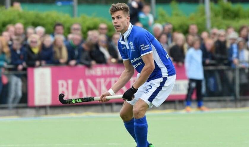 Hockeyinternational Sander de Wijn ging vroeger naar het Merletcollege in Cuijk.