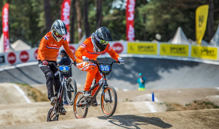 Ellen Jacobs is wereldkampioen BMX.