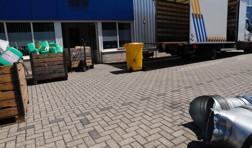 In Heijen is een hennepkwekerij ontdekt en opgerold.