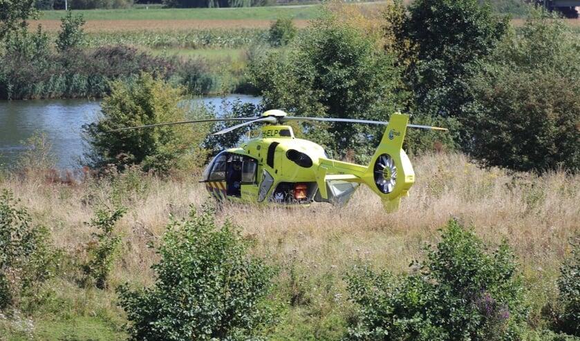<p>Vrouw overleden bij ongeval in Neerlangel. (Charles Mallo, Foto Mallo)</p>