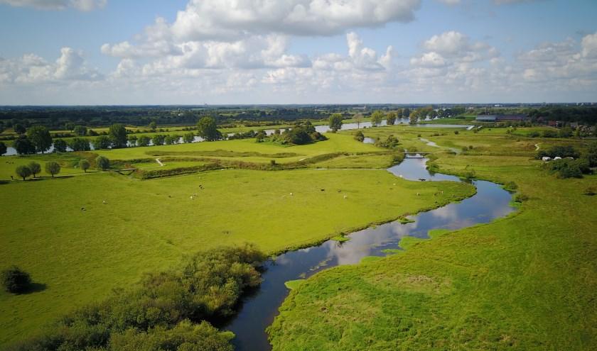 De Lob van Gennep, overstroomgebied bij extreem hoogwater?