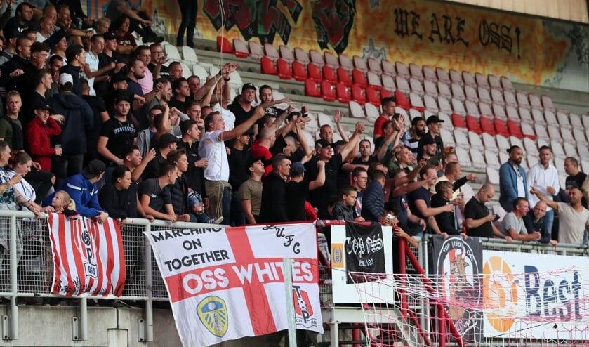 Supporters van TOP Oss.