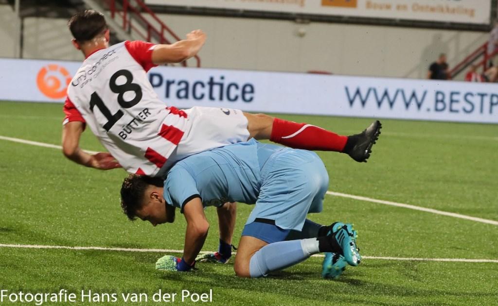 TOP Oss stelt teleur tegen Jong AZ. (Foto: Hans van der Poel)TOP Oss stelt teleur tegen Jong AZ. (Foto: Hans van der Poel)  © Kliknieuws Oss
