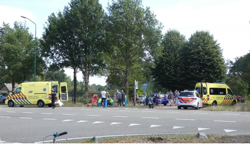 Dodelijk ongeval in Heesch. (Foto: Gabor Heeres / Foto Mallo)