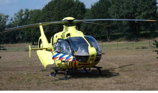 Dodelijk ongeval in Heesch. (Foto: Gabor Heeres / Foto Mallo)  © 112 Brabantnieuws
