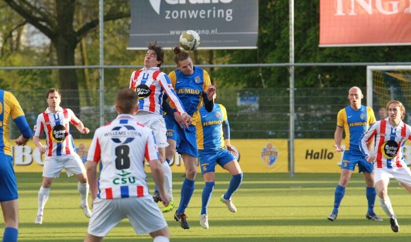 In 2016 stonden UDI'19 en Blauw Geel'38 voor de laatste keer in competitieverband tegenover elkaar.