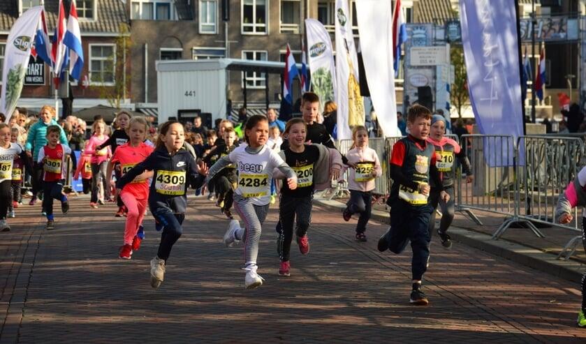 Kinderen kunnen zich gratis aanmelden voor de Kidsrun van 1 of 2.5 kilometer.