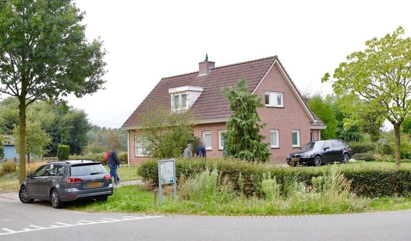 De recherche deed afgelopen week uitgebreid onderzoek in de woning van Johannes V. uit Beers.