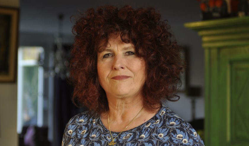 Miriam Storck begeleidt als vrijwilliger twee schrijfkringen in Bibliotheek Veghel.