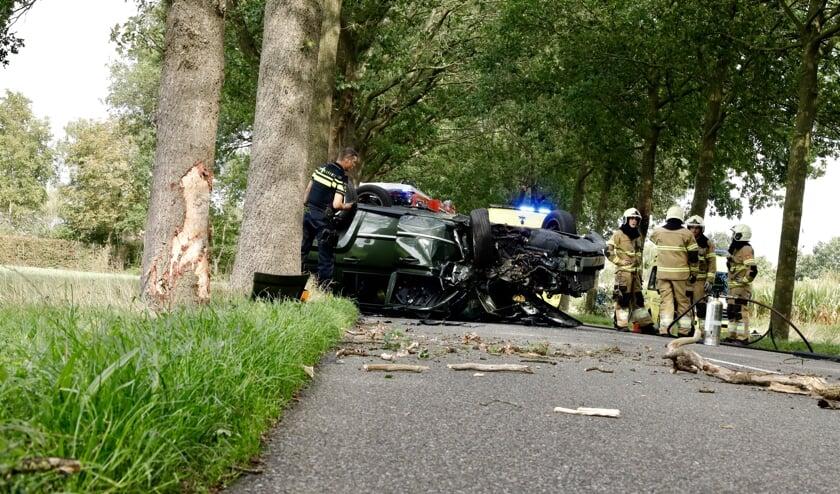 Drie vrouwen gewond bij ongeval in Wanroij.