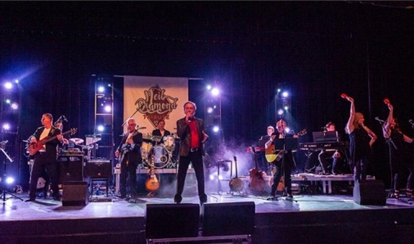 Neil Diamond Tribute Band komt terug op het podium van ter Aa
