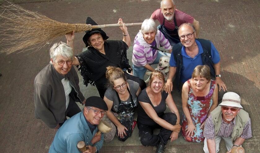 Kunstcollectief Kunstkolk houdt komend weekend de jaarlijkse open atelierroute in Boxmeer en omgeving.