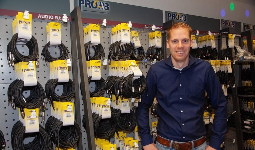 Fritz Abrahams, eigenaar van Fritz-Events, kijkt uit naar de Open dag.