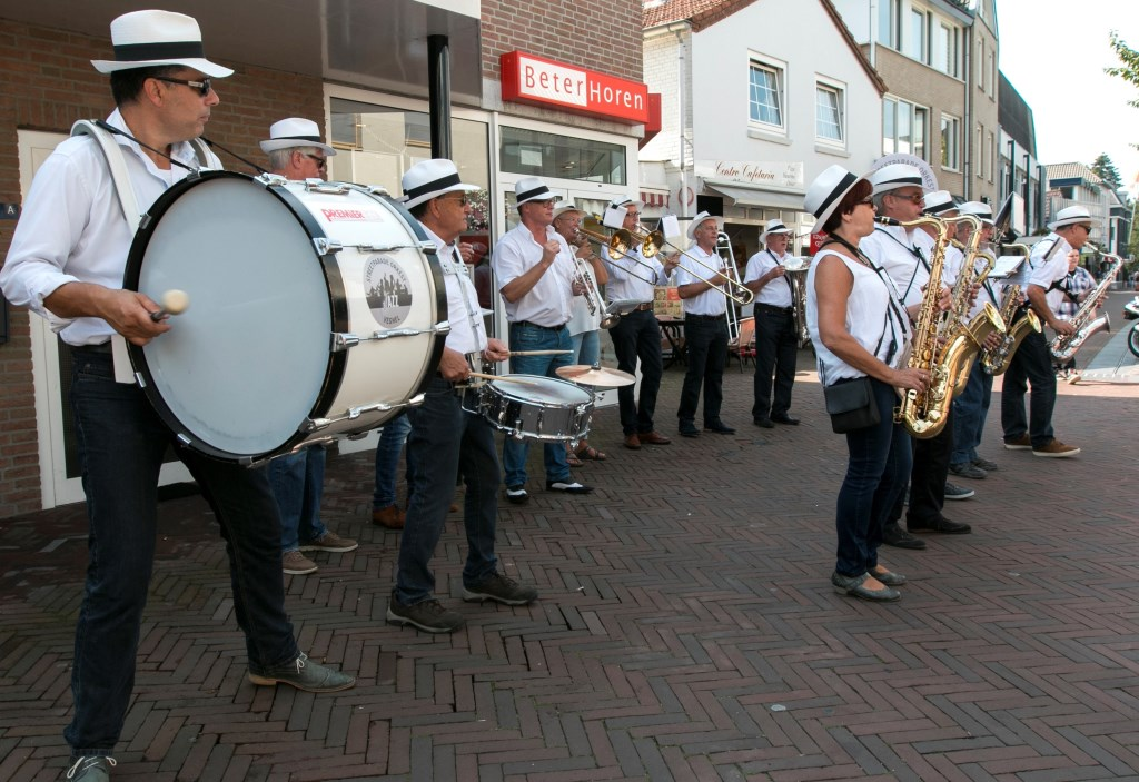 Het Streetparade Orkest Veghel houdt er bijna mee op.  © Kliknieuws Veghel