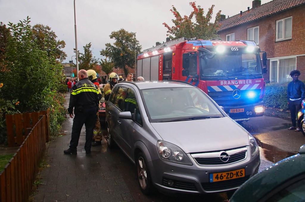 Brandweer opgeroepen voor brandje in woning Piersonstraat. (Foto: Gabor Heeres / Foto Mallo)  © 112 Brabantnieuws