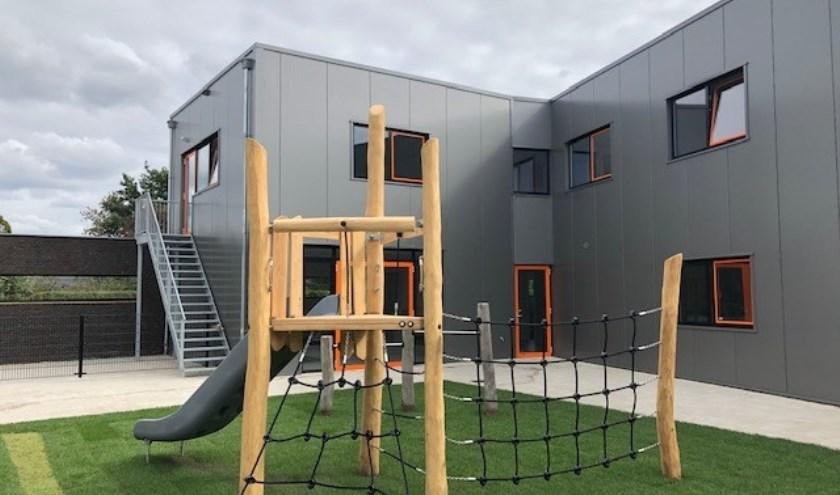 De nieuwbouw voor de buitenschoolse opvang bij Eerste Klas in Cuijk.