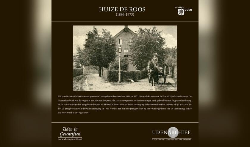 Huize De Roos. (foto: Stichting Het Uden-archief van Bressers)