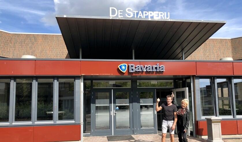Tiny van der Sanden en Ine van Cuijk gaan De Stapperij runnen.