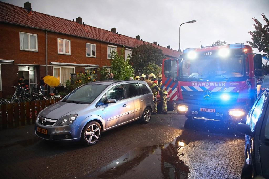 Brandweer opgeroepen voor brandje in woning Piersonstraat. (Foto: Gabor Heeres / Foto Mallo) Foto: Gabor Heeres © 112 Brabantnieuws