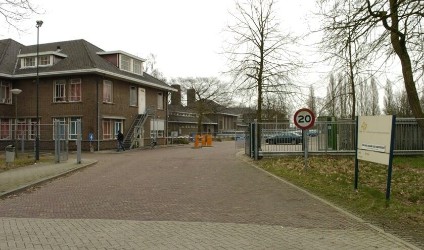 Het asielzoekerscentrum in Grave.