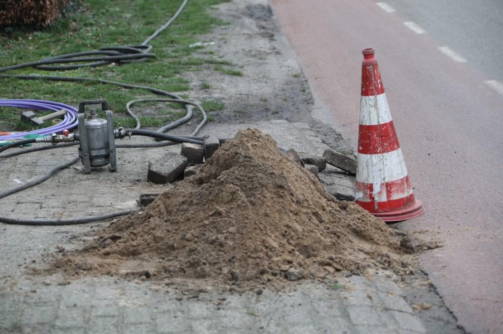 Opnieuw een gaslek in Geffen. (Foto: Gabor Heeres, Foto Mallo)  © Kliknieuws Oss