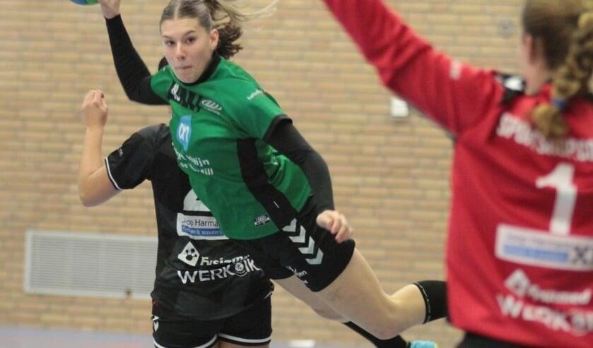 Jongeling Eef Toonen in actie voor MHV'81.