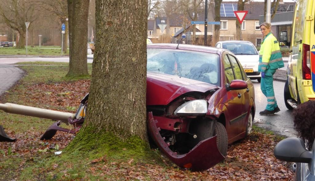 Ongeval op Heihoeksingel. (Foto Thomas)  © 112 Brabantnieuws