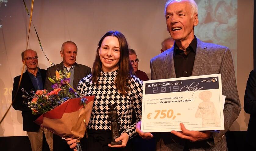 De Dr. PeelenCultuurprijs 2019 ging 'Kunst van het Geloven'. (foto: Ed van Alem)