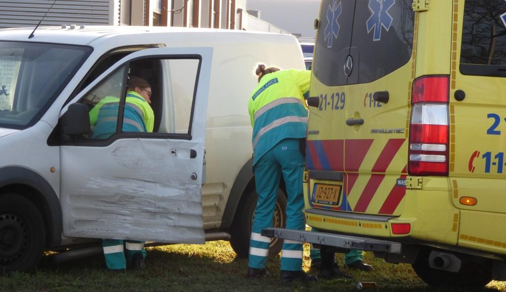 Ongeval in Oss. (Foto: Thomas)  © Kliknieuws Oss