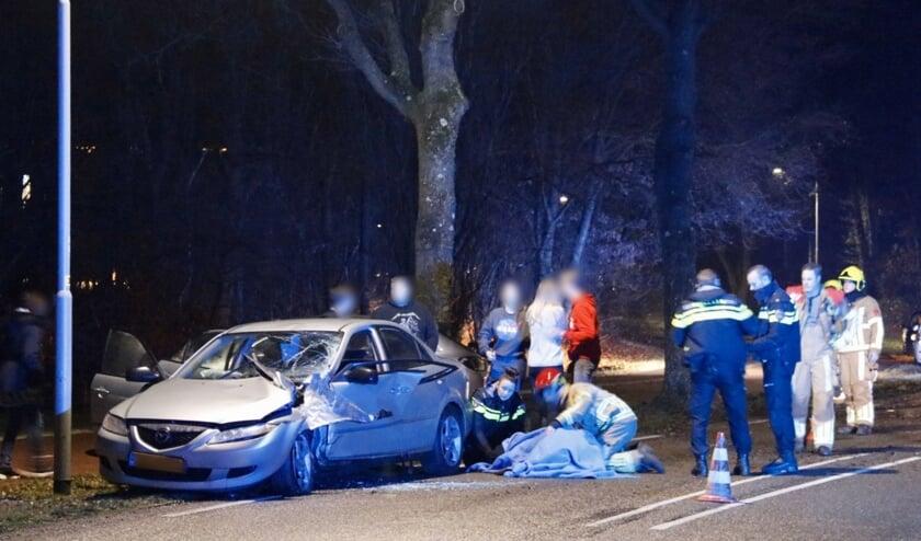 Bestuurder zwaargewond na ongeluk op Stiemensweg in Gennep.