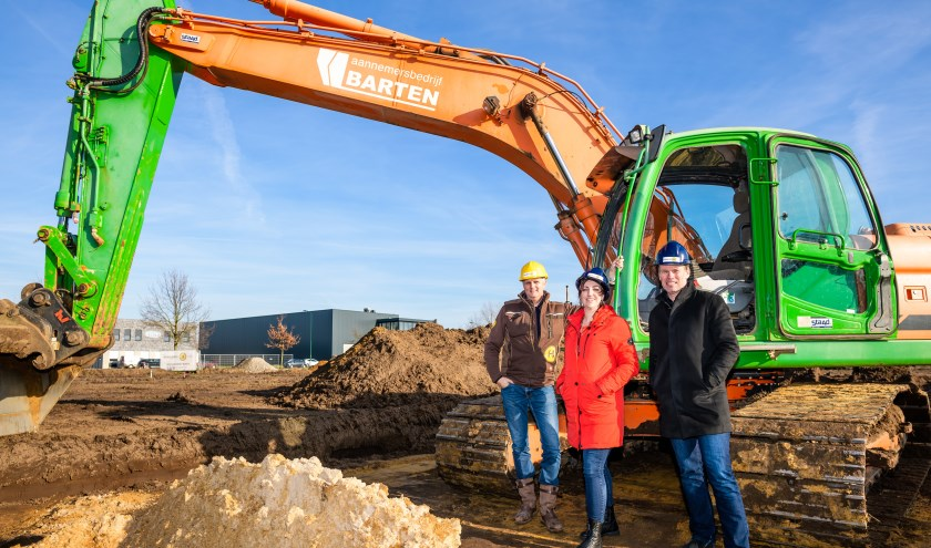 Hendriks SGR start bouw energieleverend pand. Foto: Jos Klijn