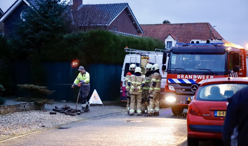 Gaslek in Beerse woning, brandweer controleert op explosiegevaar.
