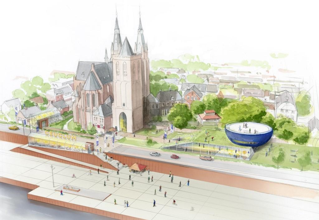 (artist-impression: © Di-visie | corporate identity & branding - Cuijk  © Kliknieuws De Maas Driehoek