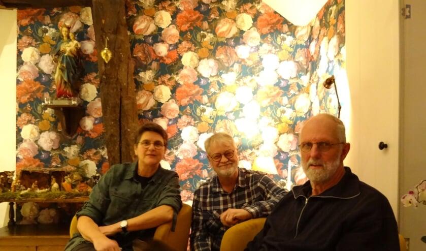 Het inspiratieteam vlnr: Jeanne van Boxtel, Erick Mickers en Henk Trimbach. (foto: Ankh van Burk)