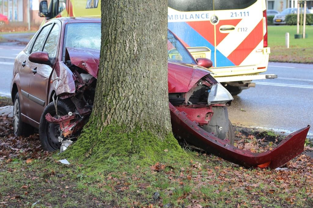 Ongeval op de Heihoeksingel. (Foto: Charles Mallo, Foto Mallo)  © 112 Brabantnieuws